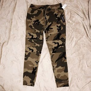 PacSun Camouflage Joggers
